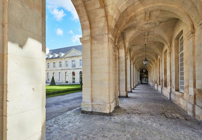 L'abbaye aux dames à Caen