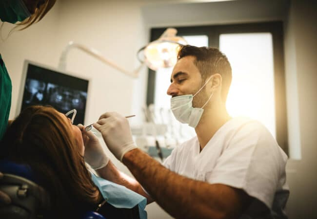 Consultation dentiste