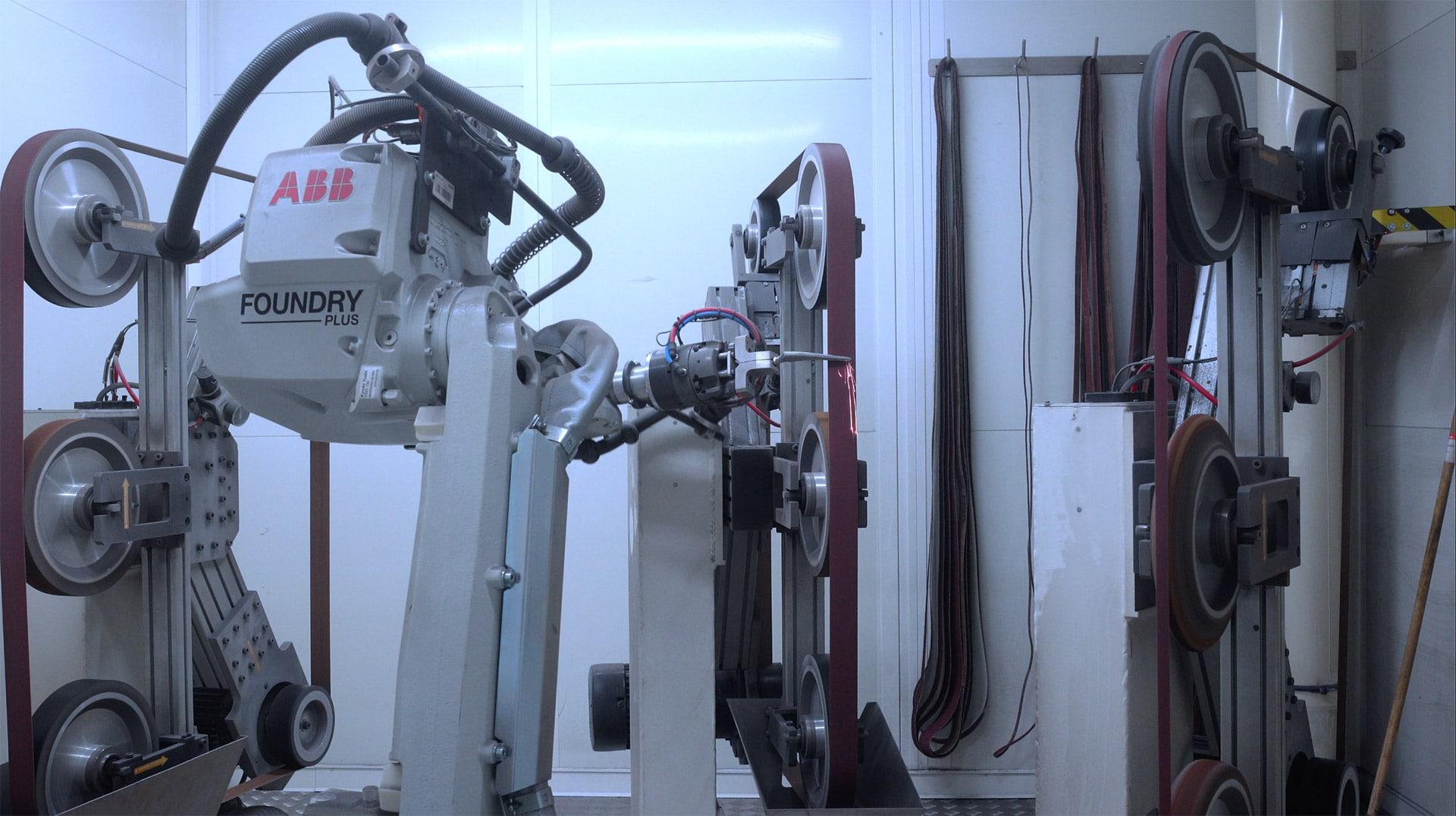 Emerisage robotisé