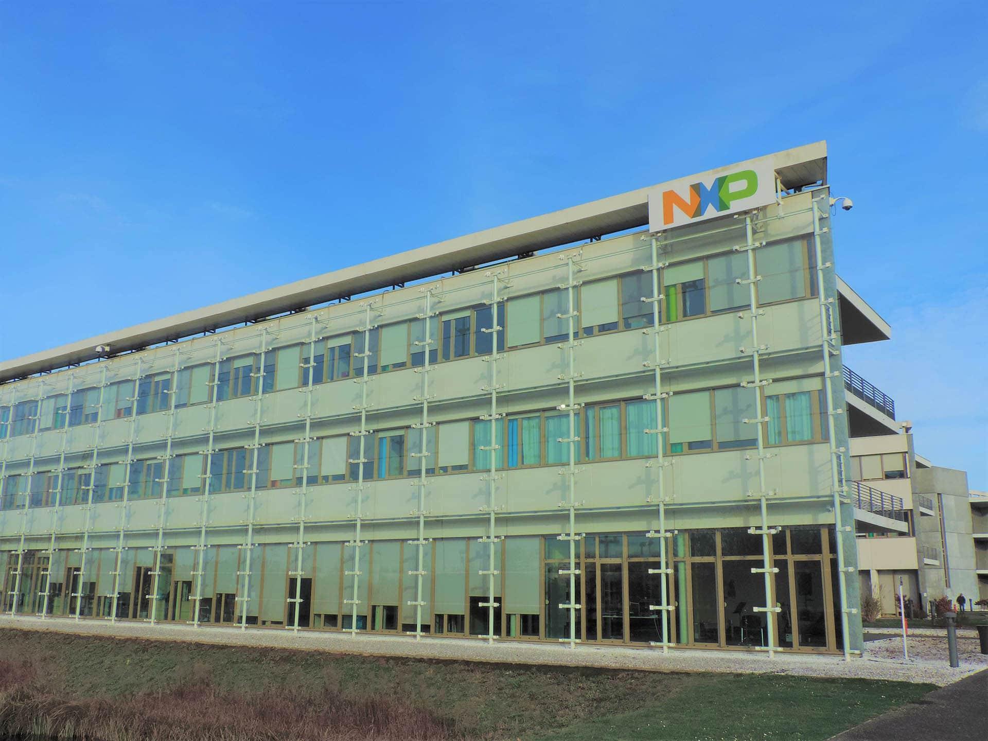 Façade du bâtiment NXP