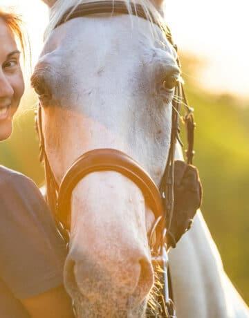 Une femme et son cheval