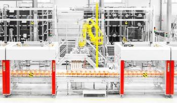 Machine dans une usine