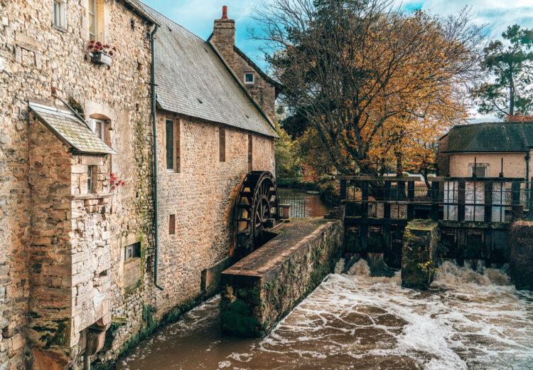 Moulin dans les rues de Bayeux