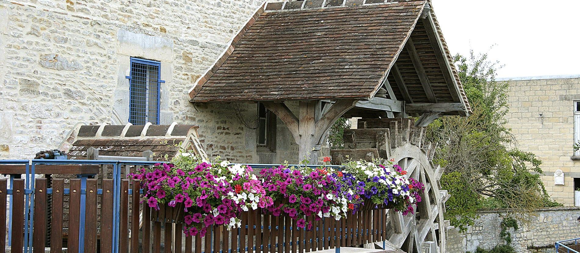Bâtisse d'un moulin
