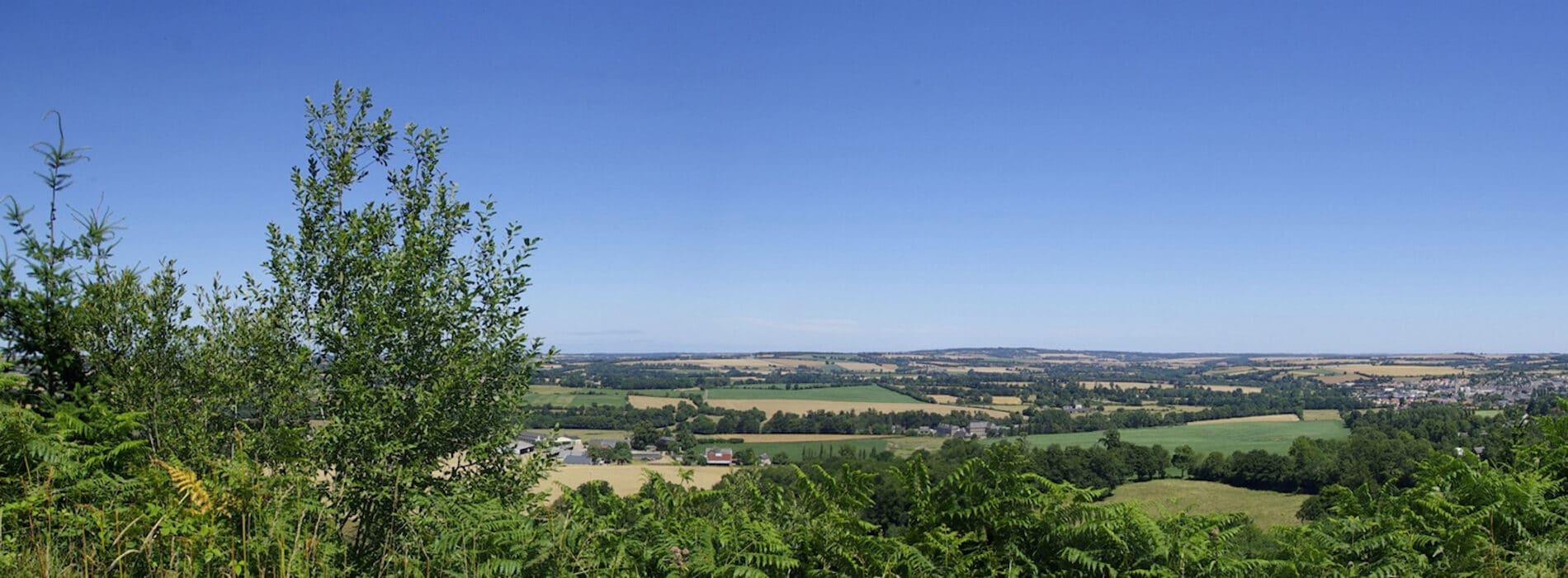 Paysage de nature dans le Calvados