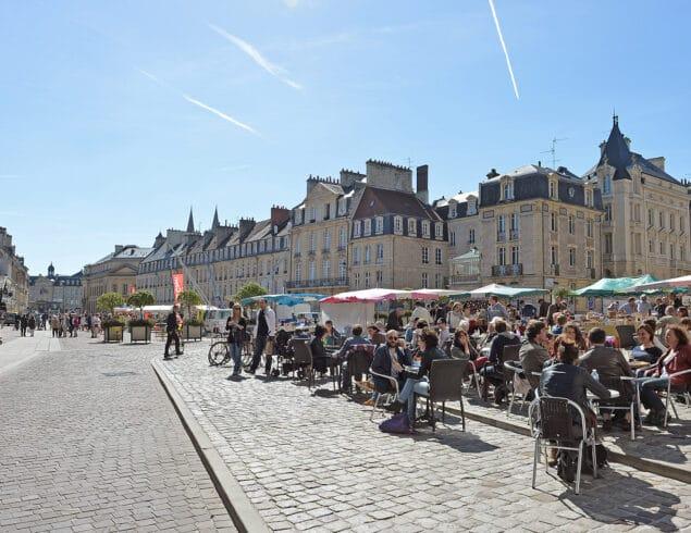 Terrasse Place Saint Sauveur Caen