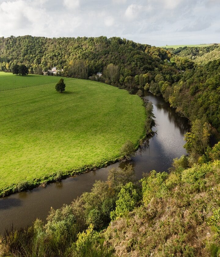 paysage et cours d'eau