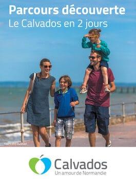 Carte Parcours Découverte, le Calvados en 2 jours